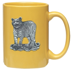Tiger Yellow Coffee Cup