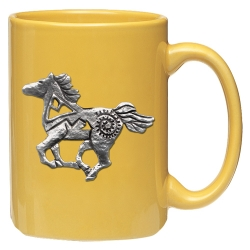 Pony Fetish Yellow Coffee Cup