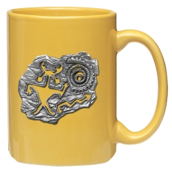 Shaman Yellow Coffee Cup
