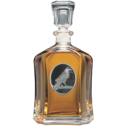 Raven Capitol Decanter - Enameled