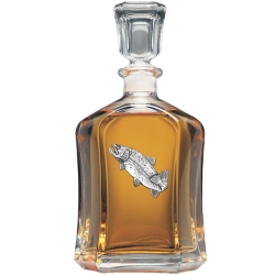Trout Capitol Decanter