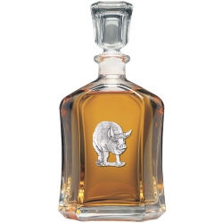 Pig Capitol Decanter