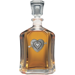 Heart Capitol Decanter