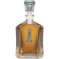 Lighthouse Capitol Decanter