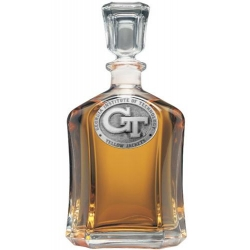 "Georgia Institute of Technology ""GT"" Capitol Decanter"