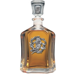 Sea Otter Capitol Decanter