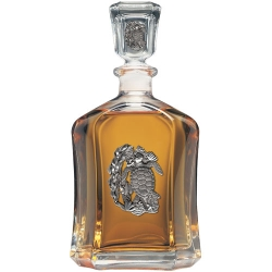 Sea Turtle Capitol Decanter