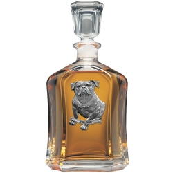 Bulldog Capitol Decanter