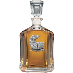 Dachshund Capitol Decanter