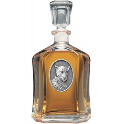 Leopard Capitol Decanter #2