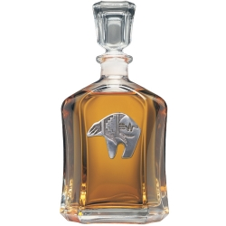 Bear Fetish Capitol Decanter