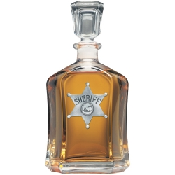 Sheriff Capitol Decanter
