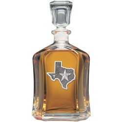 Texas Capitol Decanter