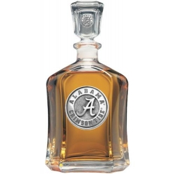 "Alabama ""A"" Crimson Tide Capitol Decanter"