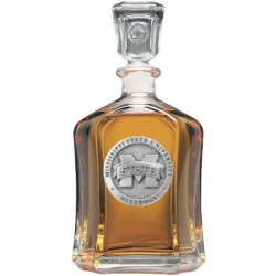 "Mississippi State University ""M"" Capitol Decanter"