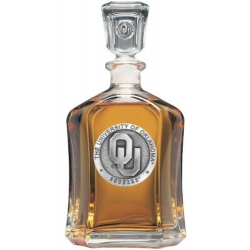 "University of Oklahoma ""OU"" Capitol Decanter"