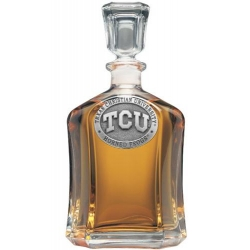 Texas Christian University Capitol Decanter