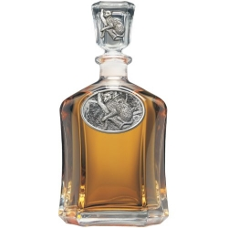 Leopard Capitol Decanter