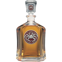 King Crab Capitol Decanter - Enameled