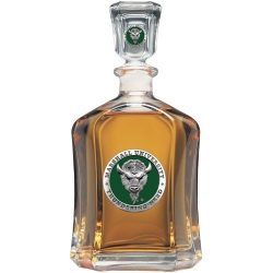 Marshall University Capitol Decanter - Enameled