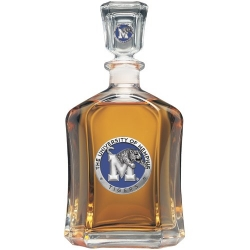 University of Memphis Capitol Decanter - Enameled