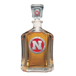 University of Nebraska Capitol Decanter - Enameled