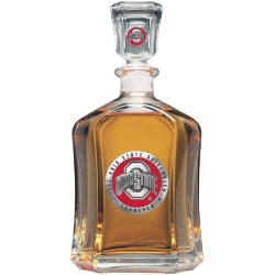 Ohio State University Capitol Decanter - Enameled