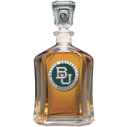 Baylor University Capitol Decanter - Enameled