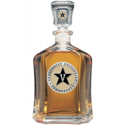 Vanderbilt University Capitol Decanter - Enameled