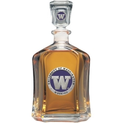 University of Washington Capitol Decanter - Enameled
