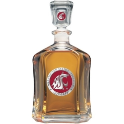 Washington State University Capitol Decanter - Enameled