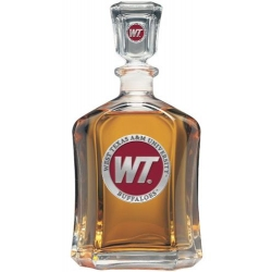 West Texas A&M University Capitol Decanter