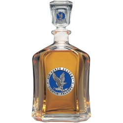 Air Force Academy Capitol Decanter - Enameled
