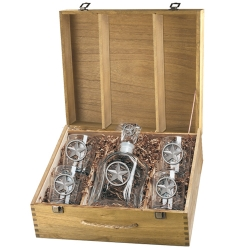 Lone Star Capitol Decanter Set w/ Box