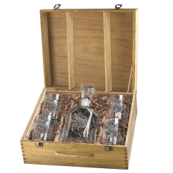 Alligator Capitol Decanter Set w/ Box