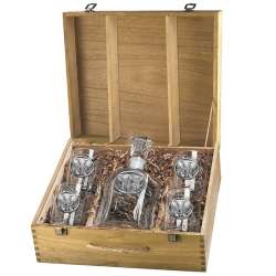 Eagle Capitol Decanter Set w/ Box