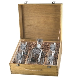 Turkey Capitol Decanter Set w/ Box