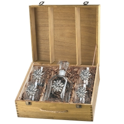 Celestial Capitol Decanter Set w/ Box