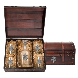Anchor Capitol Decanter Set w/ Chest