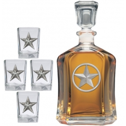 Lone Star Capitol Decanter Set