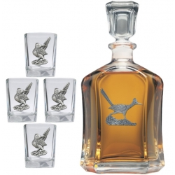 Road Runner Capitol Decanter Set