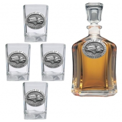 University of Nevada Capitol Decanter Set