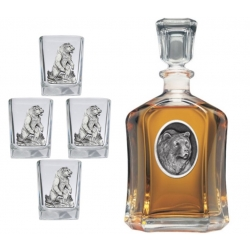 Grizzly Bear Capitol Decanter Set #2