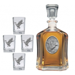 Mallard Duck Capitol Decanter Set #2