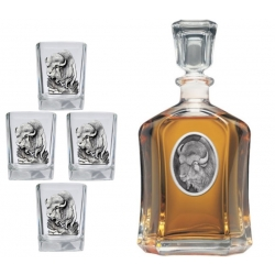 Buffalo Capitol Decanter Set
