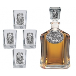 Bighorn Sheep Capitol Decanter Set