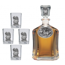 Elk Capitol Decanter Set