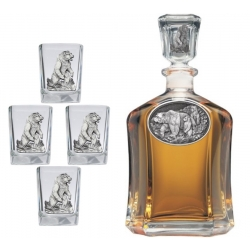 Grizzly Bear Capitol Decanter Set