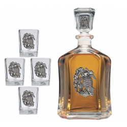 Sea Turtle Capitol Decanter Set