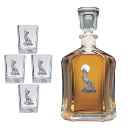 Coyote Capitol Decanter Set